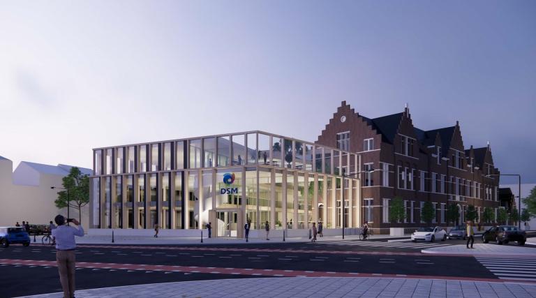 DSM hoofdkantoor in Maastricht