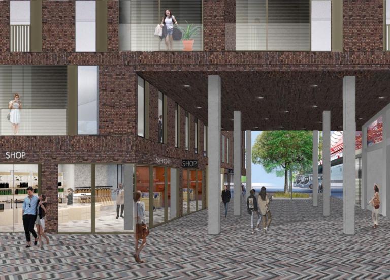 Passage Stationsplein-Busplein op site KG.jpg